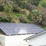 我が家はシャープ6.12kw太陽光発電システム